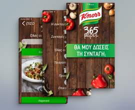 Knorr 365 Application